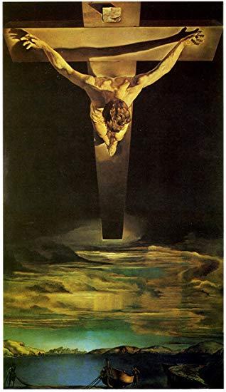 cristo de san juan de la cruz de Dali zack viernes santo 2019