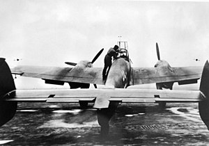 Messerschmitt_Me_110_aircraft_before_take_off_for_raids_against_the_English,_1940_(34616164965)