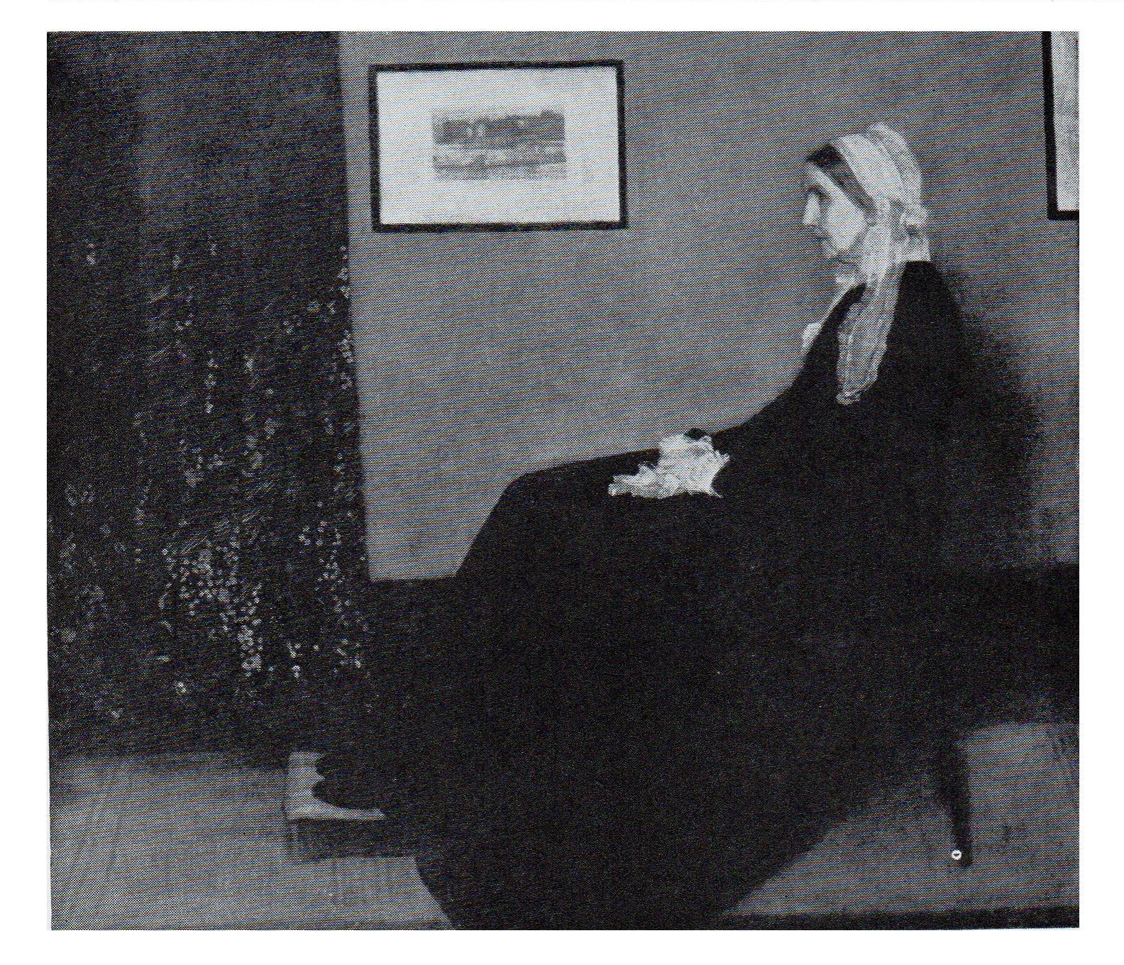 james mcneill whistler cuadro mat