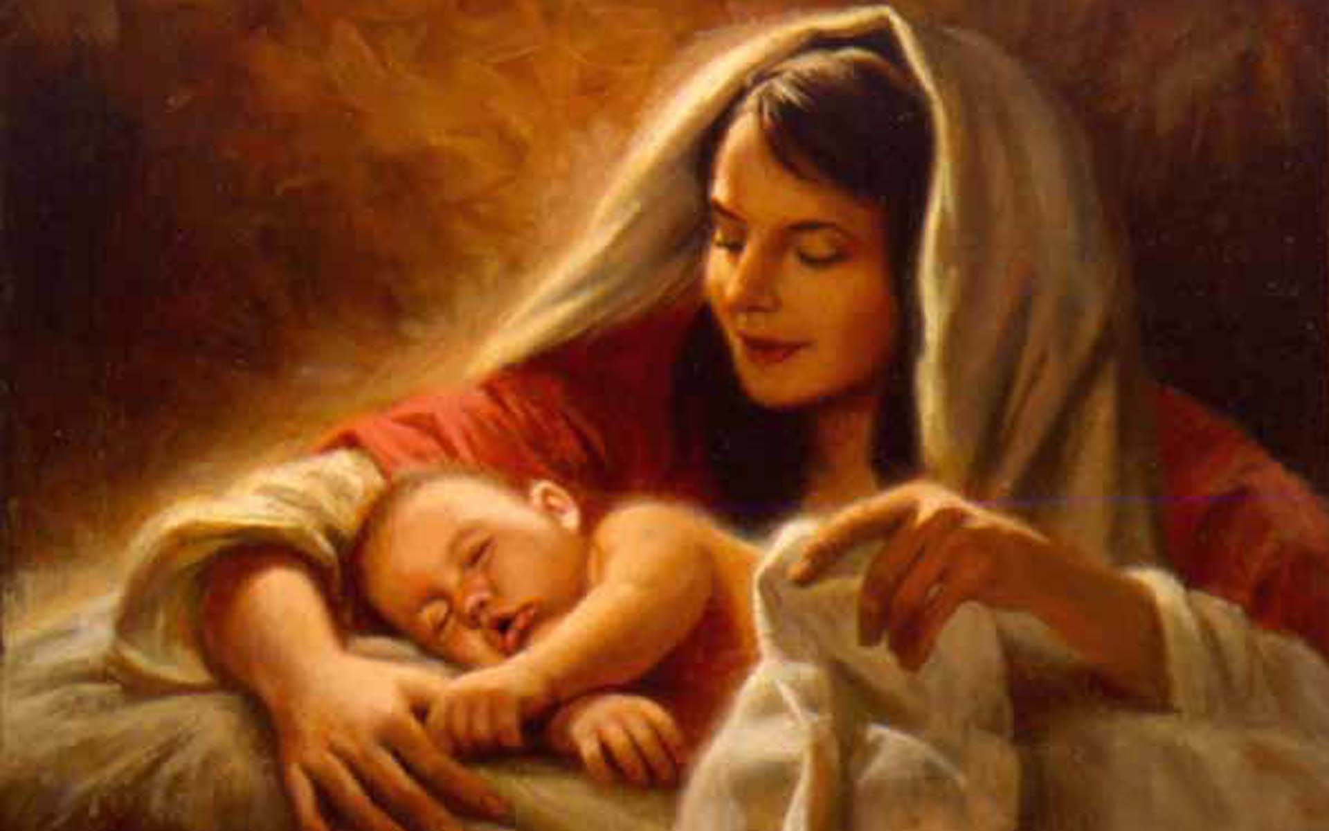 merry jesus-recien-nacido-nace-de-una-virgen