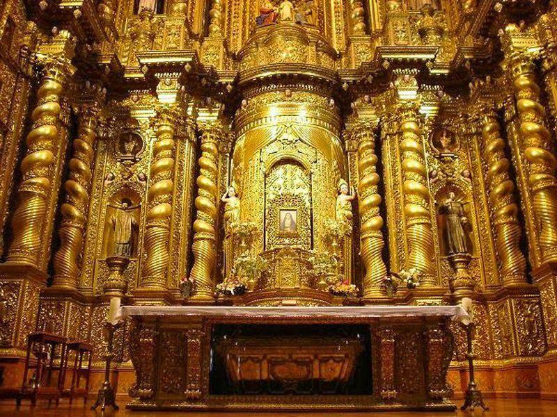 altar de la compañia de jesus