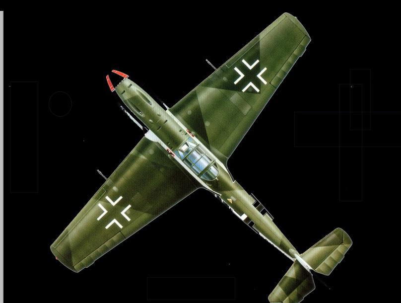 Messershmitt bf 109 E-4022PP