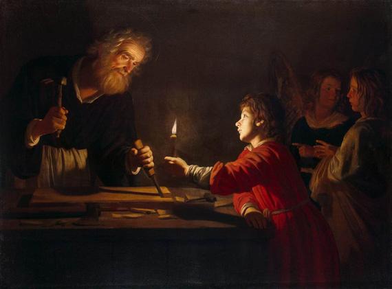 jesus HONTHORST-Gerrit-van-Childhood-of-Christ-copy