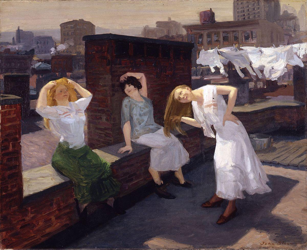 John_Sloan_-_Sunday,_Women_Drying_Their_Hair
