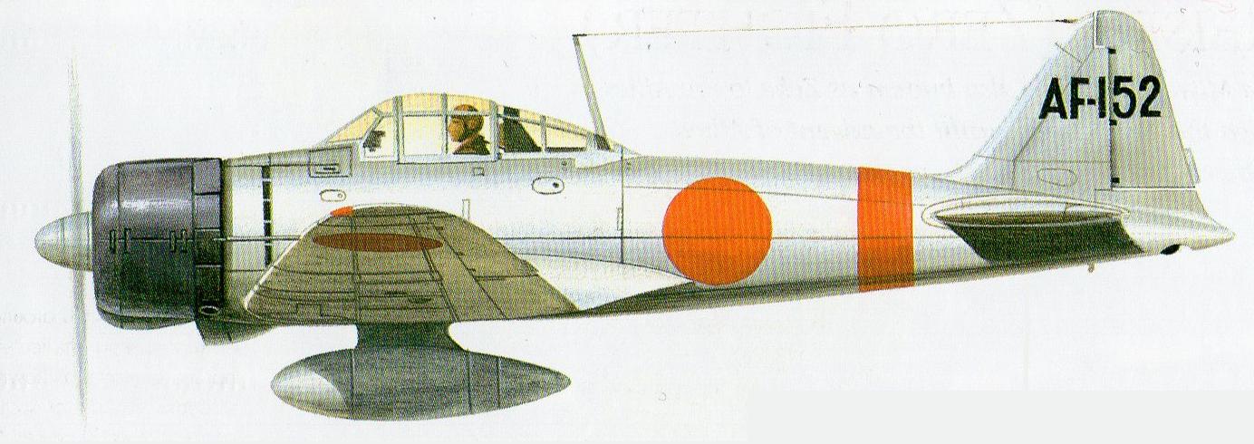 Mitsubishi A6M2 Af152