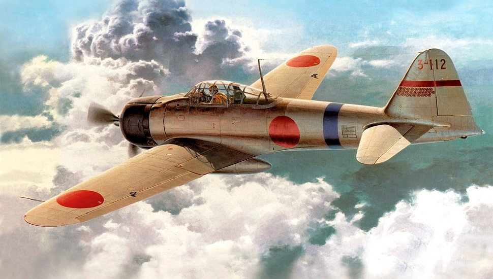 mitsubishi A6M2 Zero reisen picture