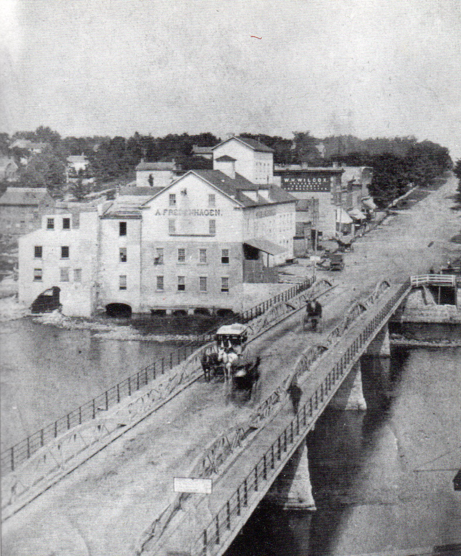 Primer puente Saint Charles